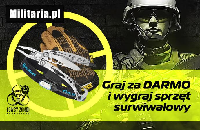 Łowcy Zombi: dołącz do Turnieju Aktywności Militaria.pl