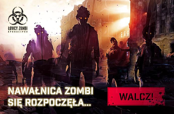Nawałnica Zombi – nowy tryb gry w grze Łowcy Zombi