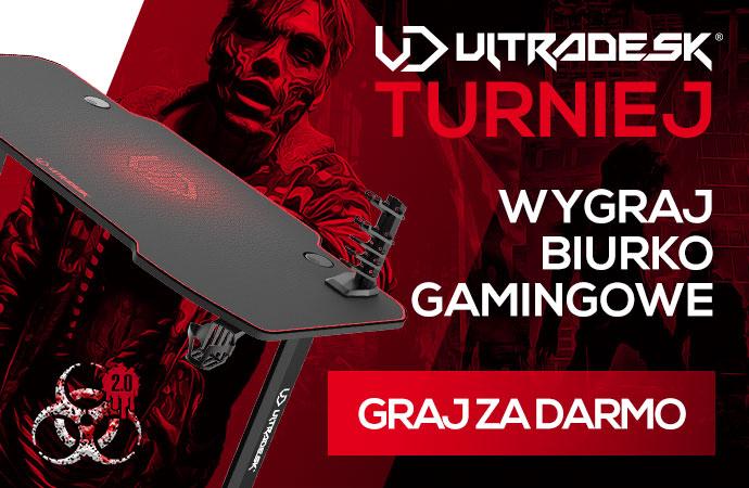 Turniej Ultradesk w Łowcach Zombi